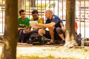 Jason Speaking to Myanmar People about the gospel